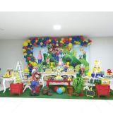 Buffet infantil completo e Decoração