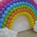 decoração com balões fortaleza
