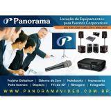 Panorama Eventos - Datashow, Sonorização, Filmagem