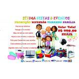 Promoção Diversão Tamanho Família Sétima Festa