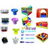 Eventos com brinquedos infláveis e equipamentos