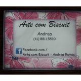 Arte com Biscuit - Andrea Ramos