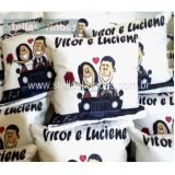 Almofada personalizada para casamento