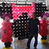 Decoração com balões Ornamentação com balões Festa