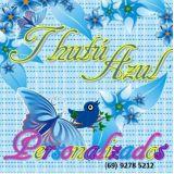 Thutú Azul personalizados para festas