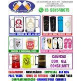 Canecas e copos personalizados em Sorocaba