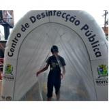 Aluguel de Túnel de Sanitização para eventos