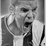 Desenhos realistas - retratos feitos a lápis