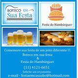 Festival do Hamburguer - Festa de Boteco