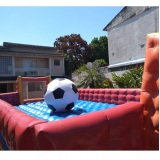 Futebol de Sabão Tobogã Splash Touro Mecânico
