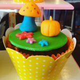 Cupcakes Personalizados de Vários Temas e Logos