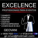 Excelence profissionais para eventos gba