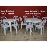 Aluguel de Mesas e Cadeiras e Tendas