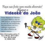 Videokê do João