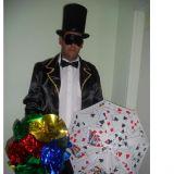 Mágico e Palhaços/ Decoração Infantil e Papai Noel