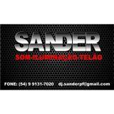DJ Sander - som e iluminação