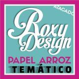Roxy Design - Atacado Papel Arroz Temático