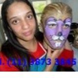 Curso de pintura facial,curso para recreadores