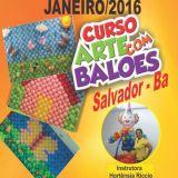 Curso de Arte com Balões - Salvador