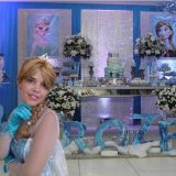 Cover Frozen Personagem vivo