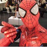 Animação de festa com super heróis