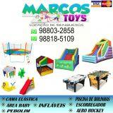 Marcos Toys - Locação de Brinquedos.