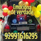 Carro de som Cestas Buques Telemensagem Manaus