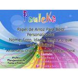 Pauleka Artes e Papel de Arroz Personalizado