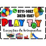 Play Toy locação de brinquedos