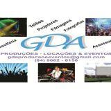 GDA Locações de Telões e Filmagens