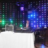 Som + Iluminação + cortina de led + Torre Q20 2m