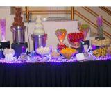 Cascata de chocolate para festas e eventos