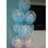 Balões gás hélio.