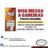 Disk Mesas & Cadeiras - Praia Grande