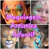 Maquiagem Artistica Infantil