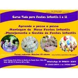 Curso de Decoraçao de Festas infantis