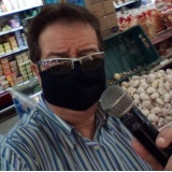 locutor de supermercado, atacadista e loja