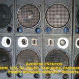 Access Eventos Som Pra Banda Luz e Palco ou Tablad