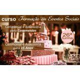 Curso Formação em Eventos Sociais - Cerimonial