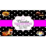 Claudia - Delícias para suas comemorações