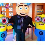 Gru e os Minions Cover Personagens Vivos Animação
