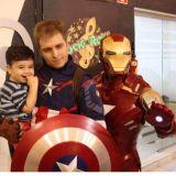 Homem de Ferro, Homem Aranha, e muito mais - Resti