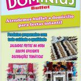 Buffet á Domicilio Infantil Pacotes completo
