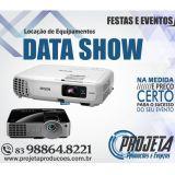 Aluguel de Data Show - Projeta Eventos