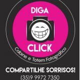 Diga Click Cabine e Totem Fotográfico