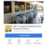 Abc Aluga materiais para Festas eventos