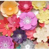 Flores em Papel para decoração