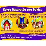 Curso Decoração com Balões vendáveis 26 e 27/08