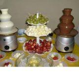 Buffet de Frutas com Cascata de Chocolate para 100