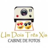 Um Dois Três Xis Cabine de Fotos